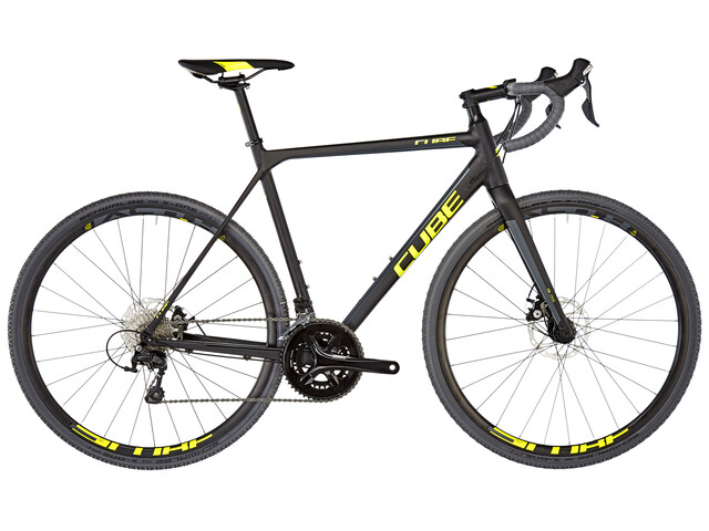 Cube Cross Race Black'n'Flashyellow